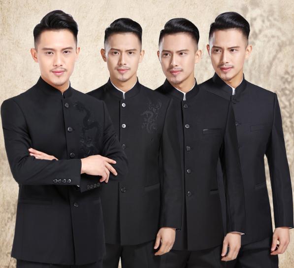 西装礼服到处都是,中式礼服让你足够惊艳
