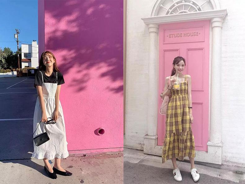 夏季受时髦精欢迎的4款裙装,你有几款?