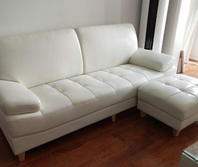 北欧真皮沙发,为中小户型而设计(图10)