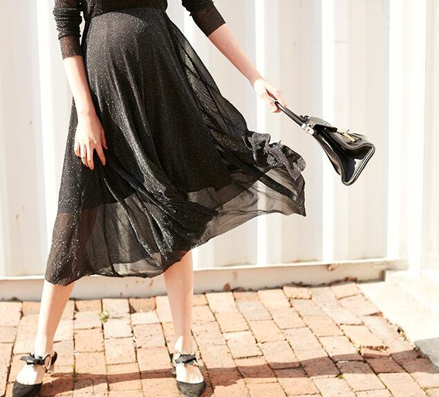 怀孕也能美的不像话,时髦孕妈这样穿!