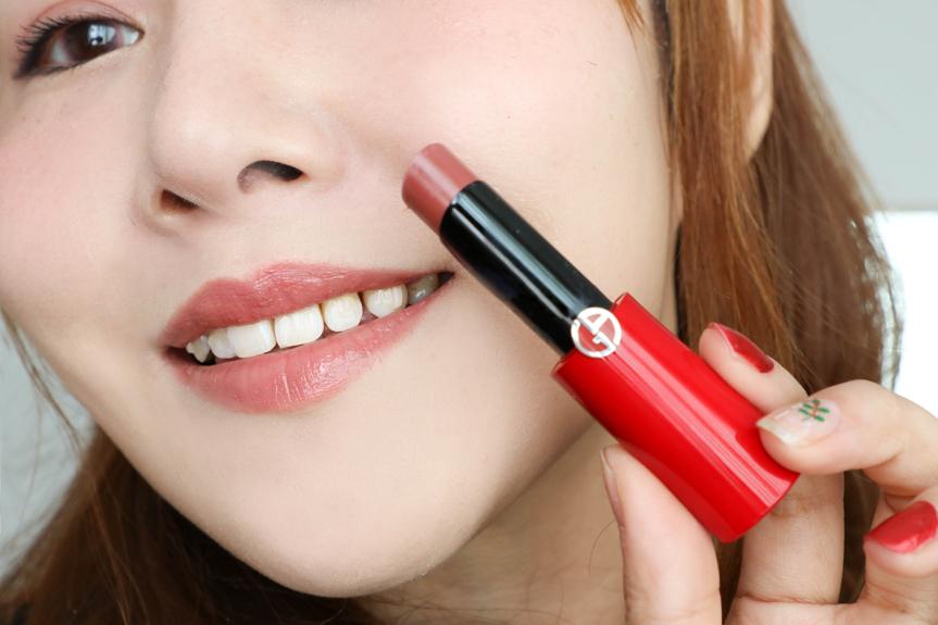 阿玛尼小细管口红唇膏西柚色,送女友生日礼物