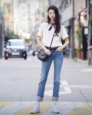 韩范穿搭合集;让你变身时髦精