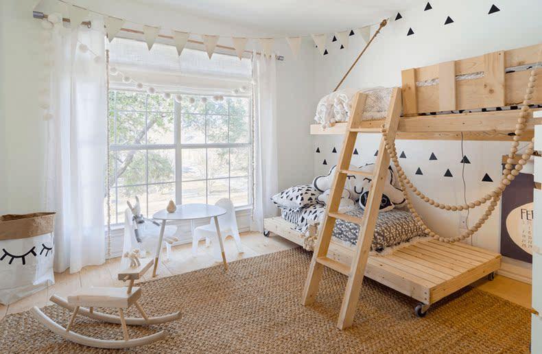 儿童房定制心得一:高低床