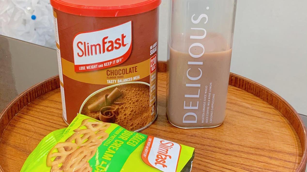 热量低的代餐奶昔还要看SlimFist