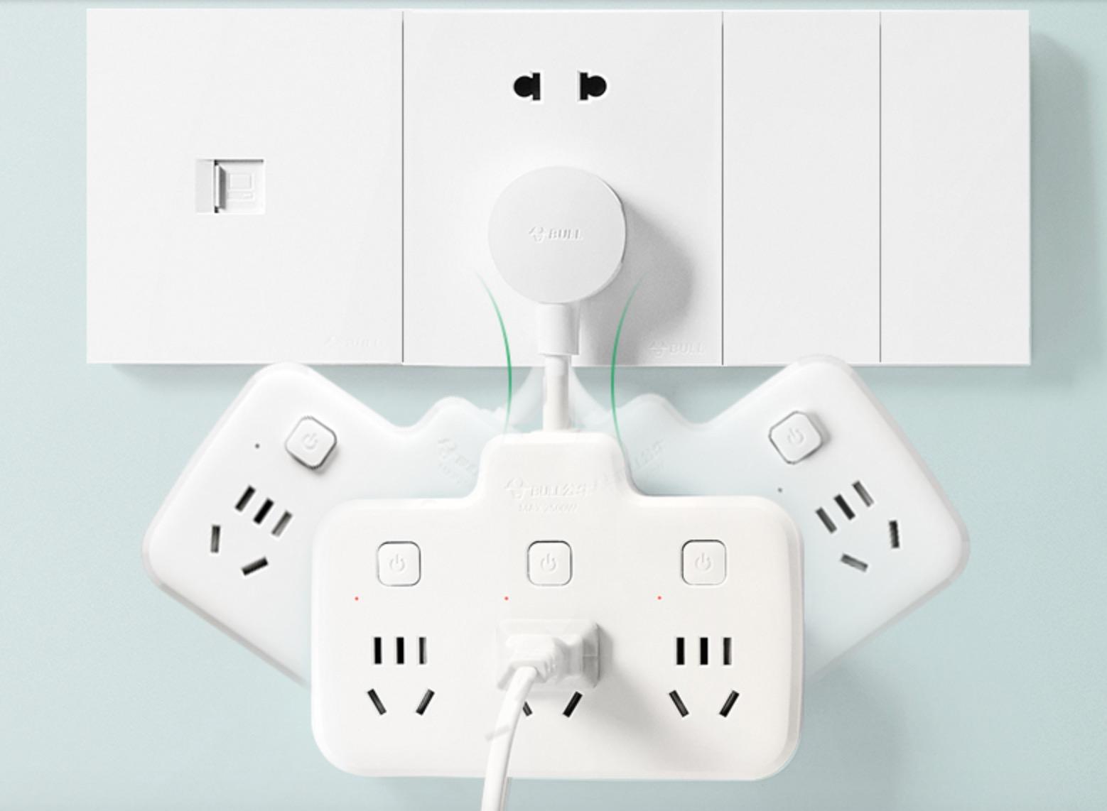 公牛电源转换器:告别杂乱的电源线