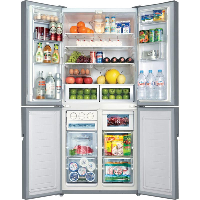 新华示+�:!ze9�����yo#_meiling/美菱 bcd-450ze9h 450zp9b多开门四门冰箱全国联保