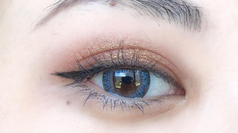 """双眸""""眼值""""UP的秘密,彩色隐形眼镜"""