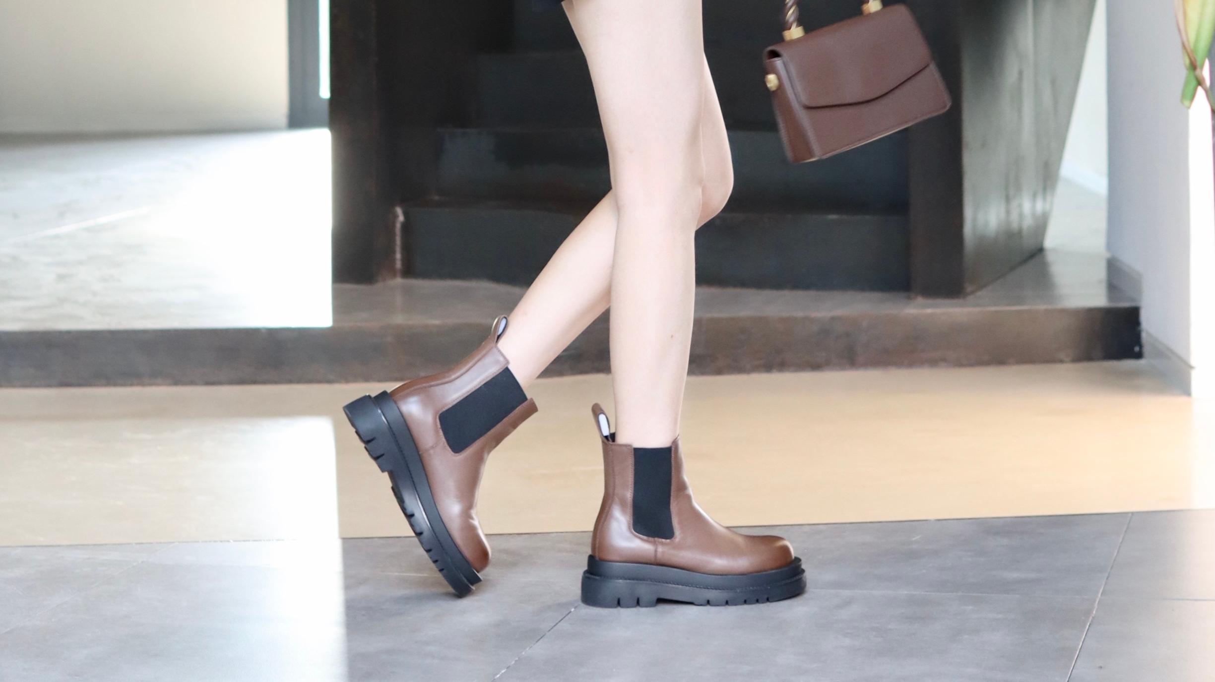 时尚潮流切尔西靴,甜美酷帅上街有亮点!