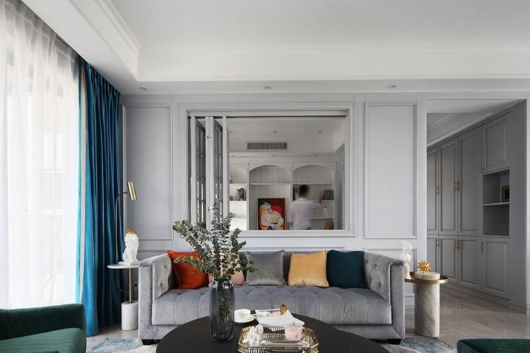 教你如何装修美式现代风,客厅格外好看