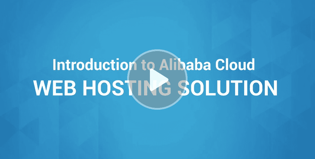 Web Hosting Solution suitable for All Websites & Businesses - Alibaba Cloud