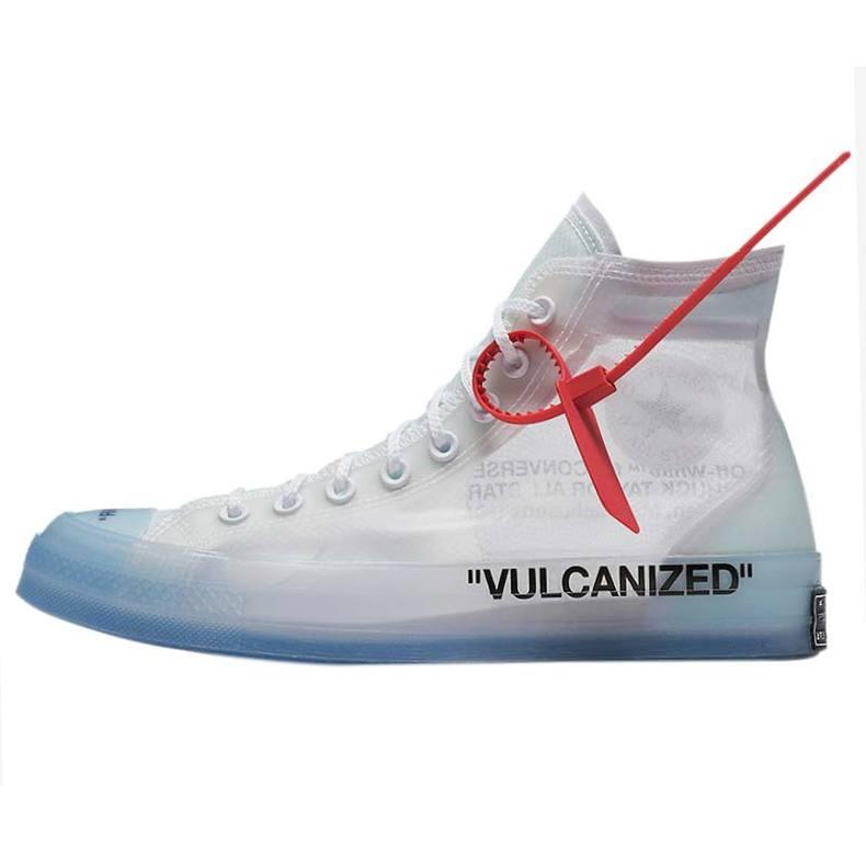 小鸿体育 Converse x OFF-WHITE OW匡威联名1970s透明结构162204C