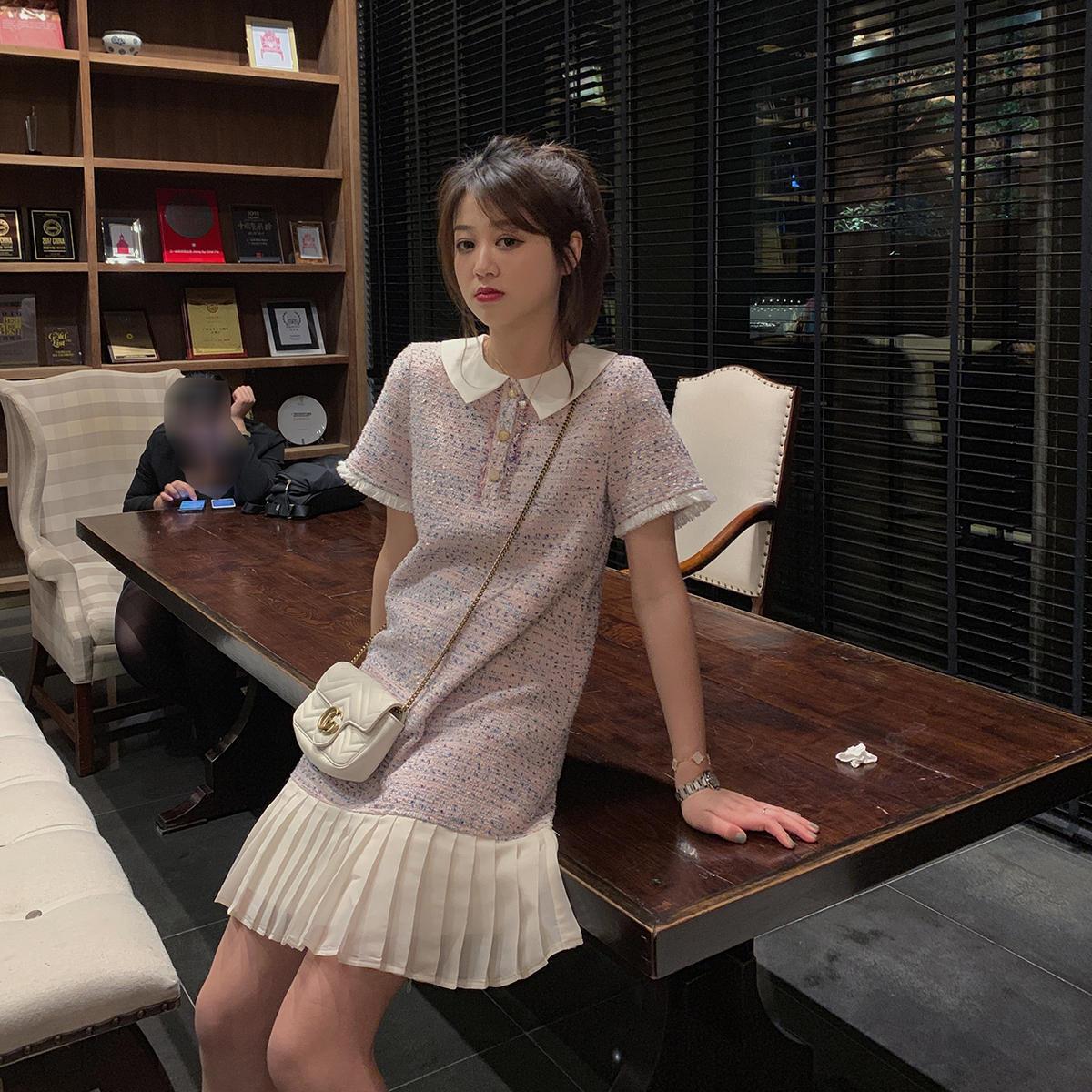 AHY2019流行夏天裙子新款很仙的法国小众连衣裙...¥169