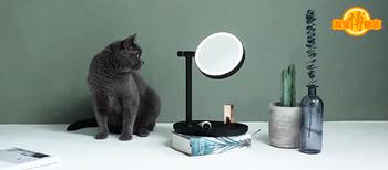是镜子还是台灯这款网红化妆镜走红不简单