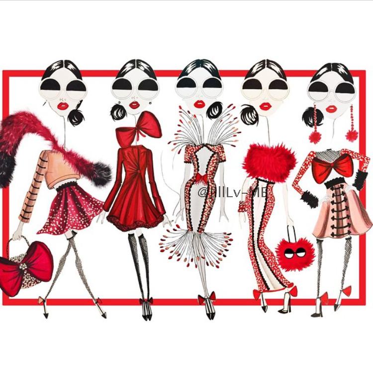 纽约插画师Sew sketchy的趣味服装插画46 作者:千叶老师 帖子ID:2696