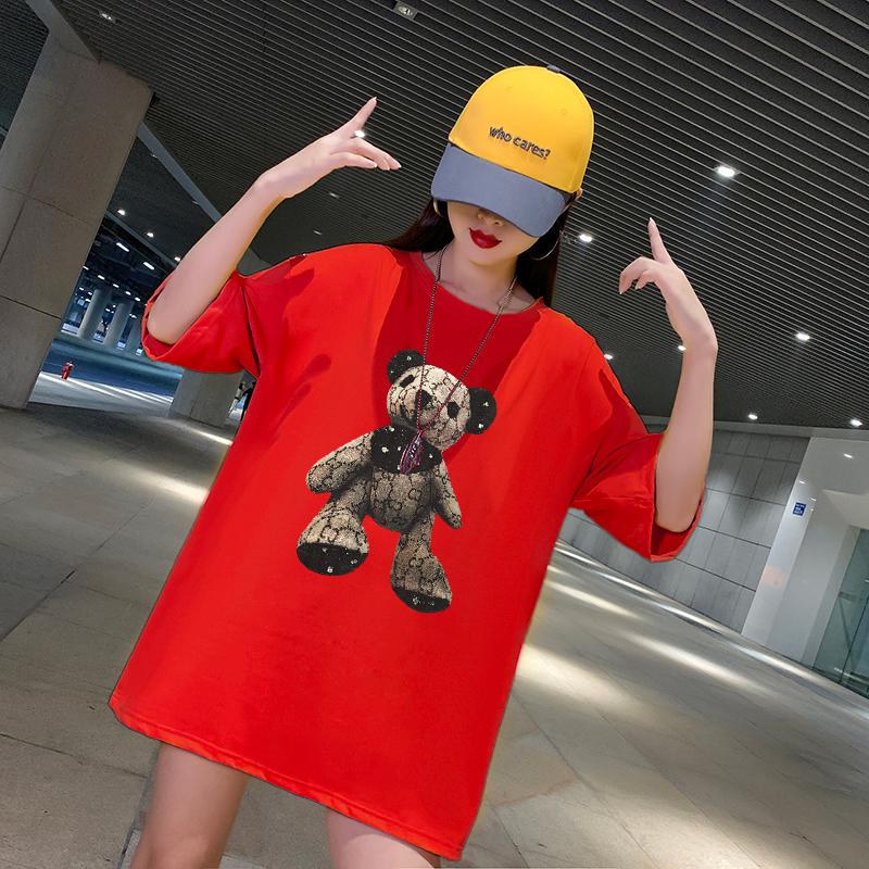 大码运动上衣女宽松胖mm200斤健身服夏显瘦速干短袖T恤网红瑜伽服主图